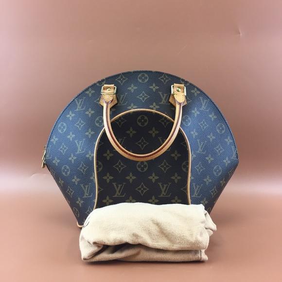 Louis Vuitton Ellipse MM Monogram Canvas Satchel